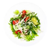 Nutrition menu for healthy lifestyle, the concept of weight loss. Studio Photo stock image