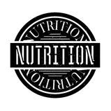 Nutrition rubber stamp Royalty Free Stock Photography