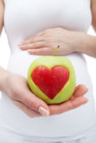 Nutrition saine pendant la grossesse Photo stock