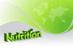 nutrition sign illustration design royalty free illustration