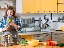 Nutrition v?g?tarienne d'aliment biologique sain image libre de droits