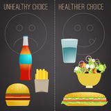 Nutrition vecor infographic Stock Photo