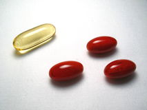 Nutritional Supplements Stock Images
