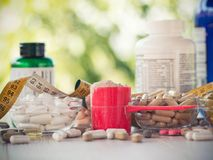Nutritional supplements Royalty Free Stock Photography