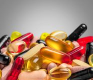 Nutritional Supplements Royalty Free Stock Image