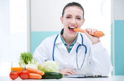 Nutritionist Doctor Royalty Free Stock Images