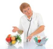 Nutritionniste Photo libre de droits