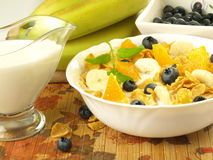 Nutritious breakfast Stock Photography