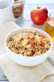 Nutritious breakfast, food in a bowl Royalty Free Stock Photo