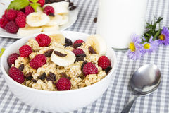 Nutritious breakfast Royalty Free Stock Images