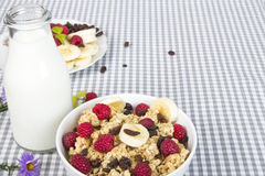 Nutritious breakfast Stock Images