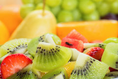 Nutritious fruits salad Stock Photography