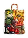 Nutritious handbag Royalty Free Stock Images