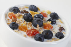 Nutritious Muesli Royalty Free Stock Photography