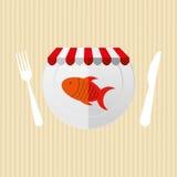 Nutritive food design. Illustration eps10 graphic Stock Image