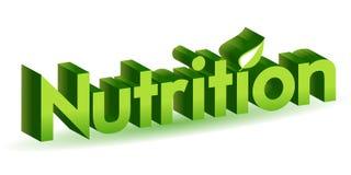 Nutrizione illustrazione vettoriale