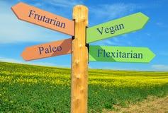 Nutrizione alternativa Immagini Stock