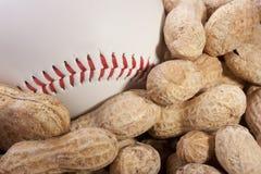 nuts арахисы Стоковые Изображения RF