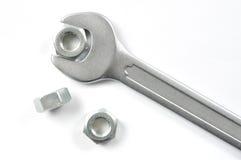 nuts гаечный ключ Стоковые Фото