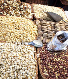 Nuts и высушено - плодоовощ стоковое фото