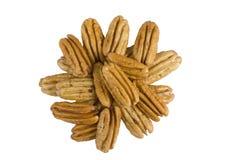 nuts обстреливаемый пекан Стоковое Изображение
