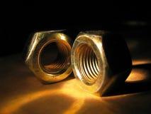 nuts пары Стоковые Изображения RF