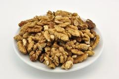 nuts плита Стоковые Фотографии RF