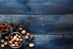 nuts специи Стоковое Фото