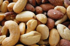 The nuts Stock Images