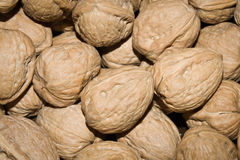 Nuts. Close up in a market Stock Photo