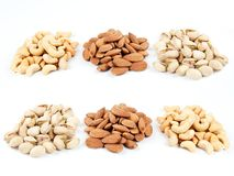 Nuts  7 Royalty Free Stock Photography