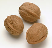 Nuts. Are rich in calories Royalty Free Stock Photos