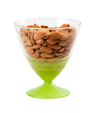 Nuts, almonds Stock Photo