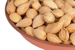Nuts, Almonds Stock Image