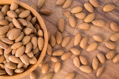 Nuts Almonds Royalty Free Stock Image