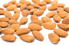 Nuts almonds invalid food Royalty Free Stock Photo