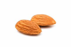 Nuts almonds invalid food Royalty Free Stock Photos