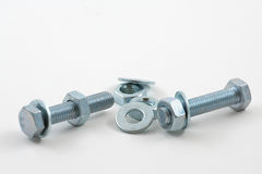 Nuts And Bolts 02 Stock Image
