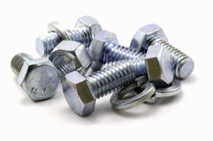 Free Nuts And Bolts Royalty Free Stock Photography - 2442317