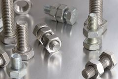 Free Nuts And Bolts Stock Photography - 3605632