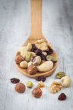 Nuts assortment Royalty Free Stock Photography
