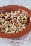 Nuts assortment Royalty Free Stock Images