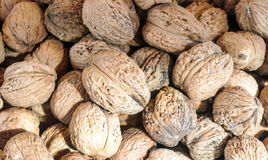 Nuts background Stock Images