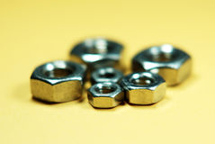 Nuts and bolt Stock Images