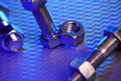 Nuts and Bolts 1 Stock Photography
