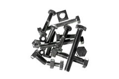 Nuts & Bolts Royalty Free Stock Images
