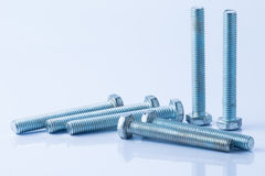 Nuts and Bolts Royalty Free Stock Image