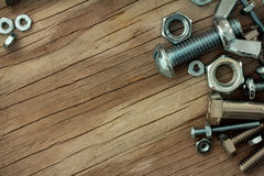 Nuts and Bolts Background Series Stock Image