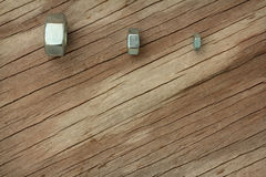 Nuts and Bolts Background Series Royalty Free Stock Photos