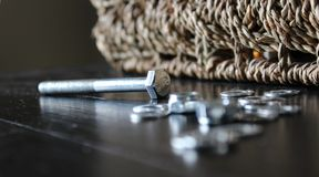 Nuts & Bolts Stock Image